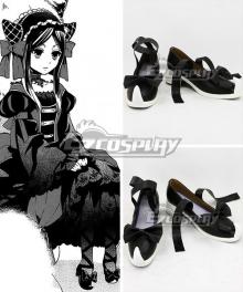 Black Butler Sieglinde Sullivan Emerald Witch Black Cosplay Shoes