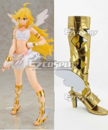 Panty and Stocking with Garterbelt Panty Gold Shoes Cosplay Boots