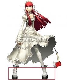 Persona 3  Chidori Yoshino White Cosplay Shoes