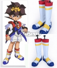 Mashin Eiyūden Wataru Mashin Hero Wataru Ikusabe Wataru Shoes Cosplay Boots