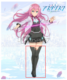 Gakusen Toshi Asterisk Academy Battle City Asterisk The Asterisk War The Academy City of the Water Julis Al Black Shoes Cosplay Boots