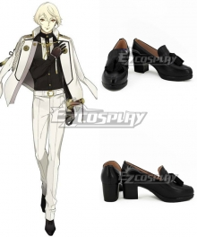 Touken Ranbu Higekiri Black Cosplay Shoes