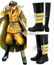 Overlord Pandora's Actor Pandorazu Akuta Black Shoes Cosplay Boots