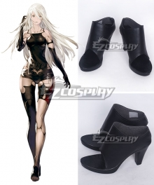 NieR: Automata YoRHa Type A No.2 A2 Black Cosplay Shoes