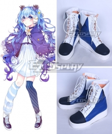 Vocaloid Hatsune Miku Winter Night Miku White Shoes Cosplay Boots