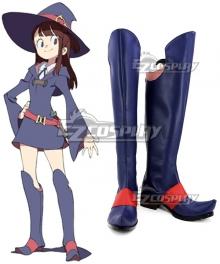 Little Witch Academia Atsuko Kagari Shoes Cosplay Boots