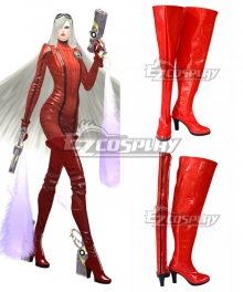 Bayonetta Jeanne Red Shoes Cosplay Boots
