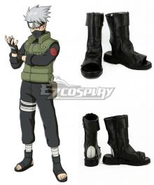 Kakashi Hatake Hatake Kakashi Black Shoes Cosplay Boots