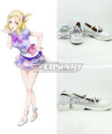 LoveLive! Sunshine!! Aqours Mari Ohara White Cosplay Shoes
