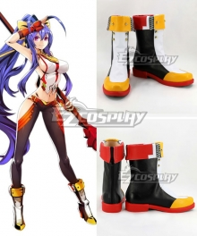 Blazblue: Central Fiction Mai Natsume White Shoes Cosplay Boots