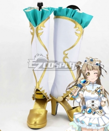 Love Live! Minami Kotori White Shoes Cosplay Boots