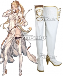 NieR: Automata YoRHa Infantry Squad Commander White Shoes Cosplay Boots