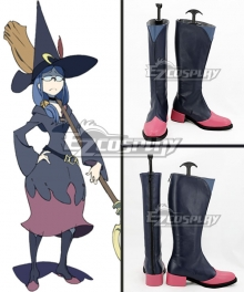 Little Witch Academia Ursula Callisti Ms. Ursula Deep Blue Shoes Cosplay Boots