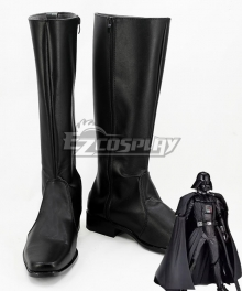 Star Wars Darth Vader Black Shoes Cosplay Boots
