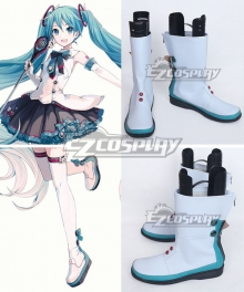 Vocaloid Hatsune Miku Magical Mirai 2017 White Cosplay Shoes