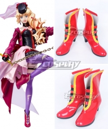Macross Frontier Macross F Sheryl Nome Red Shoes Cosplay Boots