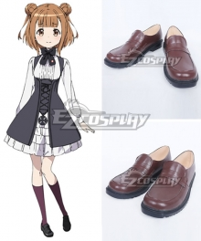 Princess Principal Beatrice Brown Cosplay Shoes