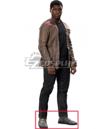 Star Wars The Last Jedi Finn Brown Cosplay Shoes
