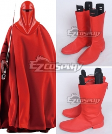 Star Wars Red Royal Guard Red Shoes Cosplay Boots