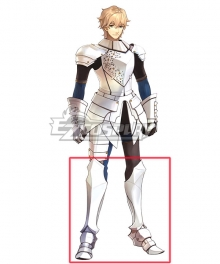 Fate Grand Order Gawain White Shoes Cosplay Boots