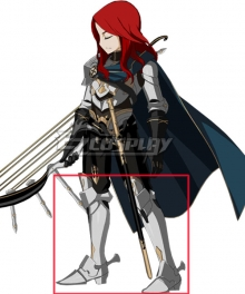 Fate Grand Order Sprite Tristan Silver Shoes Cosplay Boots
