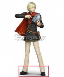 Final Fantasy Type-0 Ace Black Cosplay Shoes