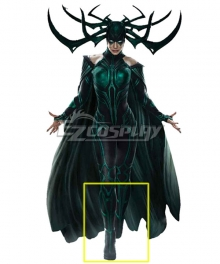 Marvel Thor 3 Ragnarok Trailer Hela Black Shoes Cosplay Boots - A Edition