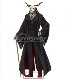 The Ancient Magus' Bride Mahoutsukai no Yome Ellias Ainsworth Black Shoes Cosplay Boots