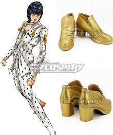 JoJo's Bizarre Adventure: Bruno Buccellati Bruno Bucciarati Golden Cosplay Shoes