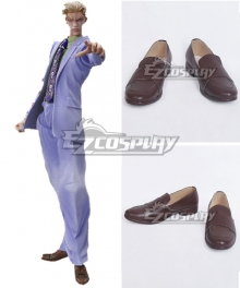 JoJo's Bizarre Adventure Yoshikage Kira Brown Cosplay Shoes