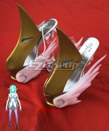 League of Legends LOL Star Guardian Soraka Golden Cosplay Shoes