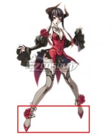 Tekken Eliza Render Red Cosplay Shoes