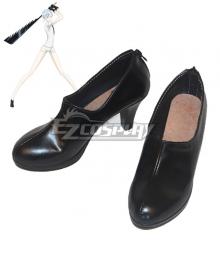 Land of the Lustrous Houseki no Kuni Antarcticite Black Cosplay Shoes