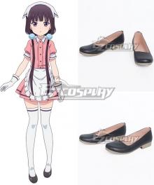 Blend·S Burendo Esu Maika Sakuranomiya Kaho Hinata Mafuyu Hoshikawa Miu Amano Hideri Kanzaki Black Cosplay Shoes