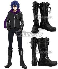 Tokyo Ghoul Ayato Kirishima Black Shoes Cosplay Boots
