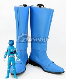 Uchuu Sentai Kyuranger Koguma Skyblue Kotaro Sakuma Blue Shoes Cosplay Boots