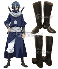 That Time I Got Reincarnated as a Slime Tensei Shitara Suraimu Datta Ken Souei Black Shoes Cosplay Boots