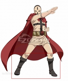 One Punch Man D-Pad Black Shoes Cosplay Boots