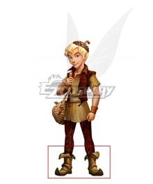 Disney Fairies Terence Brown Shoes Cosplay Boots