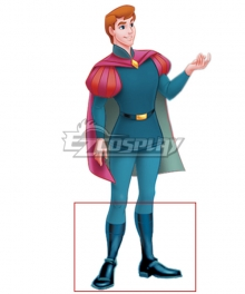 Disney Sleeping Beauty Prince Phillip Blue Shoes Cosplay Boots