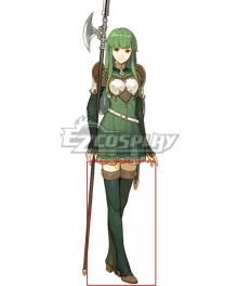 Fire Emblem Echoes: Shadows of Valentia Palla Green Shoes Cosplay Boots