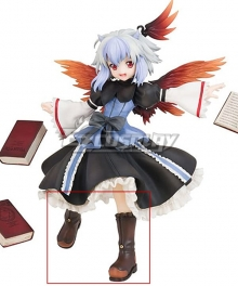 Touhou Project Tokiko Brown Shoes Cosplay Boots