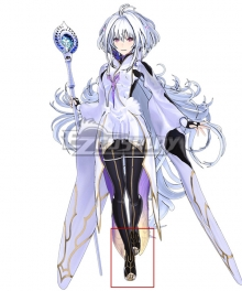 Fate Grand Order Arcade Prototype Caster Merlin Black Cosplay Shoes