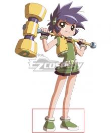 The Powerpuff Girls Z Buttercup Kaoru Matsubara Green Cosplay Shoes