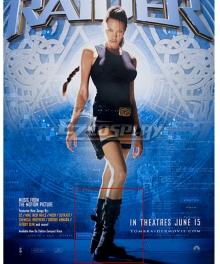 Lara Croft Tomb Raider 2001 Film Lara croft Shoes Cosplay Boots