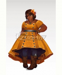 Enola Holmes Red Cosplay Costume