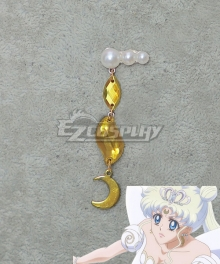Sailor Moon Crystal Neo-Queen Serenity Usagi Tsukino Earrings Ear clips Cosplay Accessory Prop