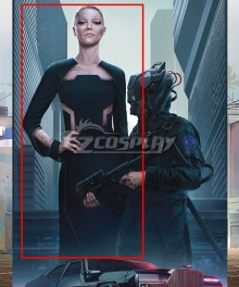 Cyberpunk 2077 Nomad Female Girl Cosplay Costume