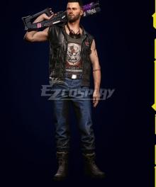 Cyberpunk 2077 V Male Nomad Cosplay Costume