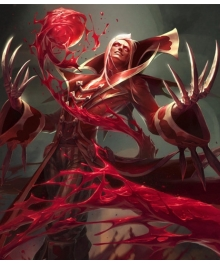 League of Legends The Crimson Reaper Vladimir Cosplay Costume